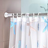 stainless steel adjustable shower curtain rod