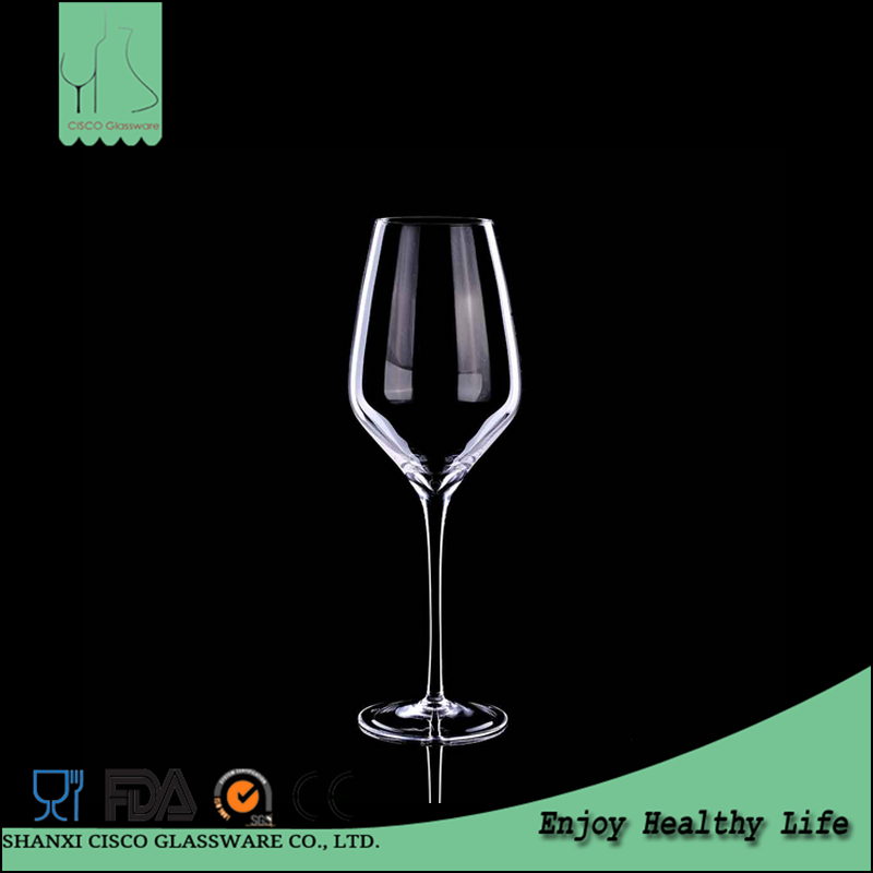 Cisco 2016 New Design Custom RWG0052 Wholesale Gold Rimmed Wine Glasses