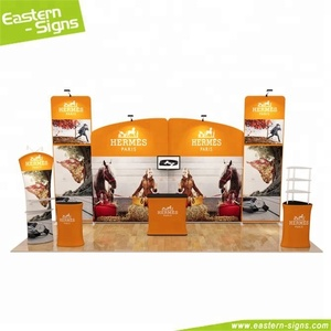 Fashion aluminum advertising commercial folding photo booth trade show