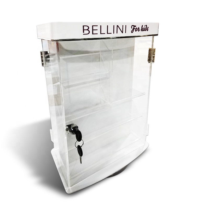 Customized OEM service acrylic <strong>retail</strong> store show display cases