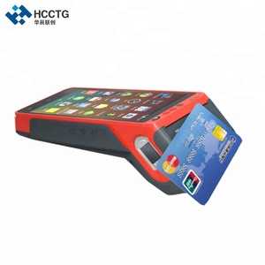 3G/4G/WIFI 5.5 Inch Touch Screen Handheld Android Edc/fingerprint POS Terminal With Printer and NFC Z100