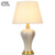 china ceramic table lamp hotel bedside table lamp E27