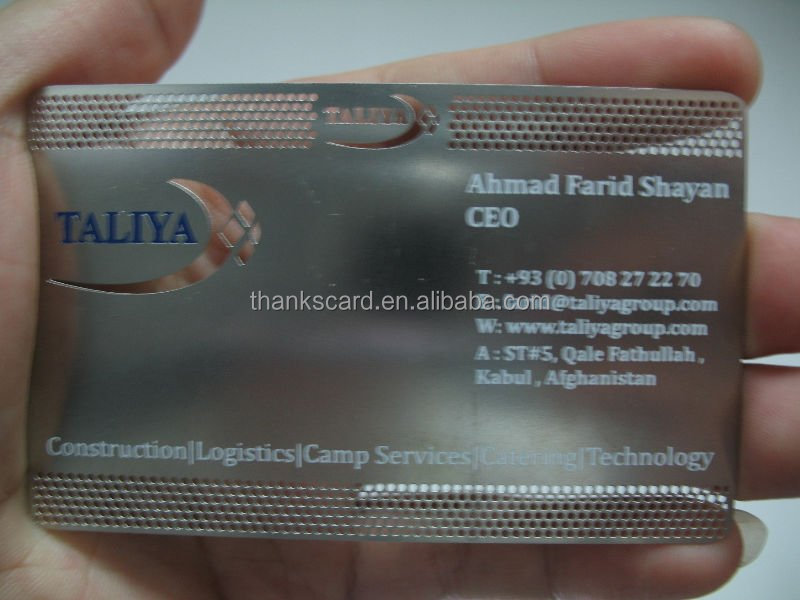 Metal Business Cardfuturistic Business Cardunique Business Card