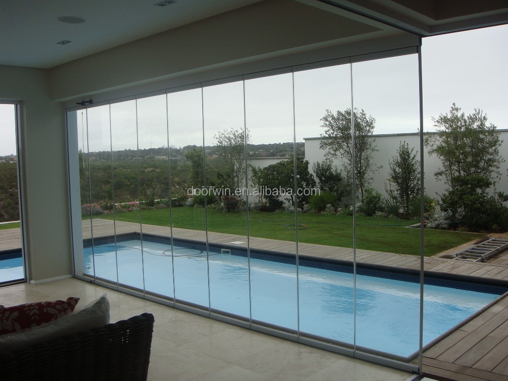 Exterior Safety Tempered Glazing Frameless Glass Folding Door Prices Buy Fr