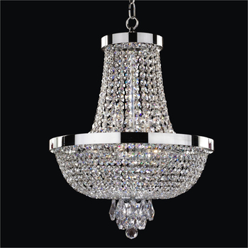 Crystal Hot Commercial Lighting Incandescent Luminaire Chandelier