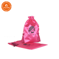 China supply fashionable custom logo creative virgin hair packaging bag for wig