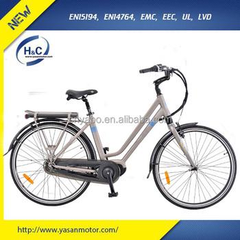Bafang Bbs02 250w Mid Drive City E Bike For Lady With Shimano 9 Speed - Buy  City E Bike,Mid Drive City E Bike,Mid Drive City E Bike For Lady Product