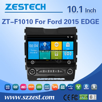 car portable dvd player For FORD EDGE 2015 touch screen 2 din auto car audio radio player support DVR OBD DTV