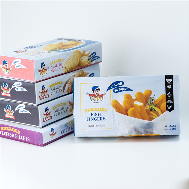 Singapore Food Suppliers DODO Breaded Fish Fingers