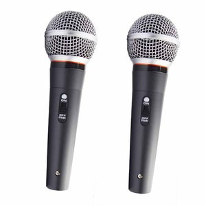 High Quality Metal Wired Handheld Microphone for Karaoke