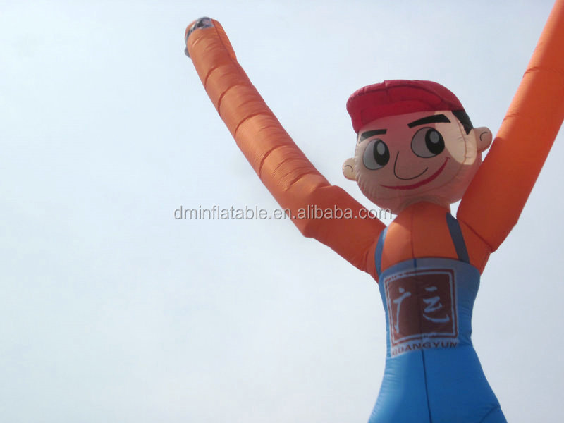 Double Leg Giant Dancing Inflatable Advertising Air Man On