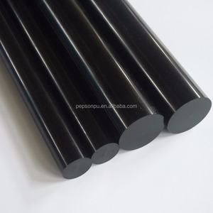 Metric Polyurethane Black Round Rod