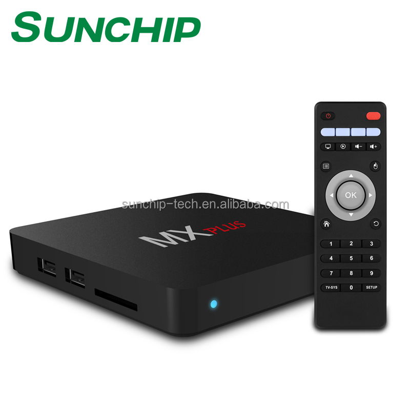 Sunchip New model CX-A12 <strong>tv</strong> <strong>box</strong> 3GB 32GB support newest <strong>amlogic</strong> s912 android 7.0 update Mali-T820 GPU 1000M LAN DUAL WIFI
