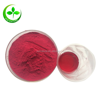 Natural red beet root extract 10% betanin powder