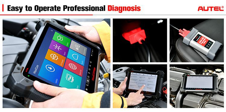 Autel Mk908p Ecu Programming Tools Diagnostic Scanner For All Cars Same As  Autel Maxisys Elite - Buy Diagnostic Tool For All Cars,Autel Maxisys