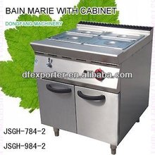 cold bain marie, JSGH-784-2 bain marie with cabinet