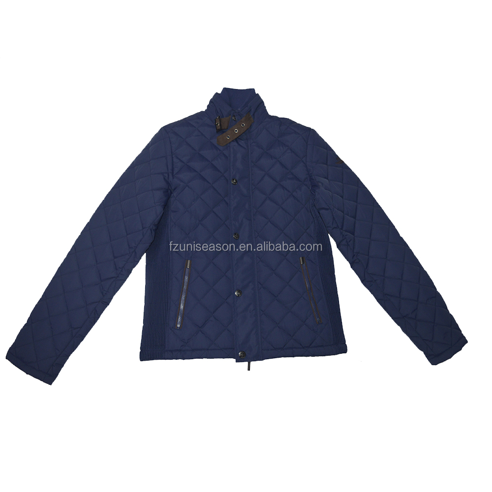 Quilted winter jacket men for equestrian