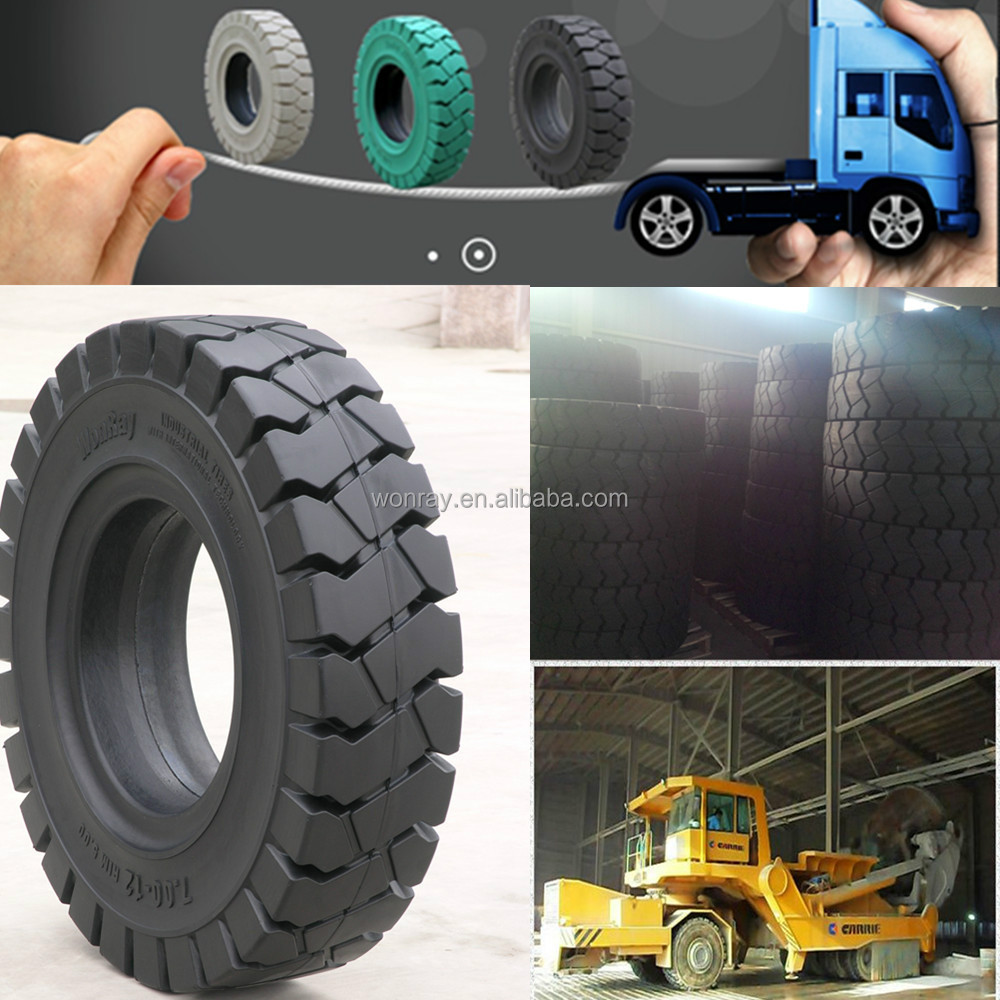 industrial pneumatic non radial solid otr tyres 9.00-20 for heavy trucks and tow tractors