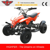 49CC 2-stroke Air-cooled 4-wheelers Mini Quad ATV for Kids with CE (ATV-1)