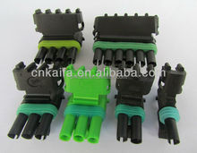 Wholesale weather pack wareroroof 1,2,3,4,6 pin auto connector plug
