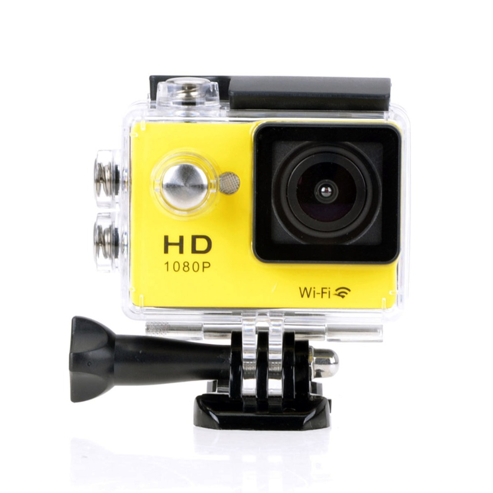 WIFI HD1080P W9 30 Meters Waterproof Sports Camera DV Action Camcorder W/ 2