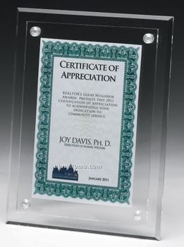 a4 certificate