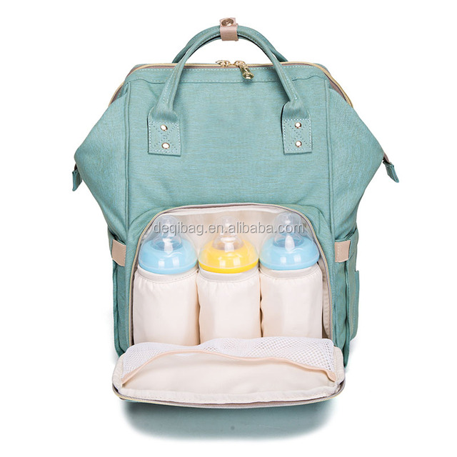 Diaper Bag Backpack for Baby Care Multi-Functional Baby Nappy Changing Bag with Insulated Pockets