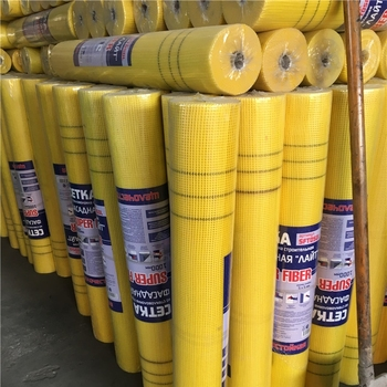 120g 130g 145g/m2 4x4 5x5 Alkali Resistance coated Fiberglass Mesh waterproof insulation fire retardant China ROCKPRO