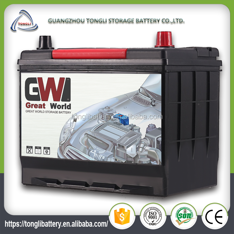 12v electric utility vehicle battery 65ah rechargeable car batteries