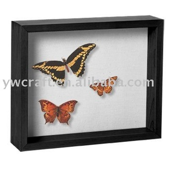 Butterfly Wood 3d Photo Frame - Buy Butterfly Frame,3d Shadow Box ...