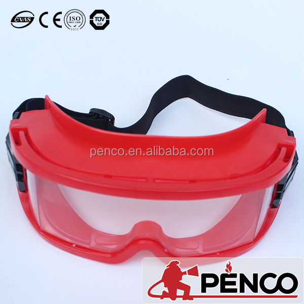 fire proof PVC protection goggles