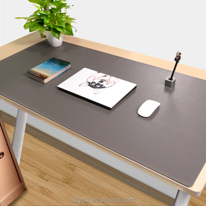 Factory Supplier Large Size Collapsible Leather Customs Desk Pad