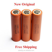 20PCS New Original LG 18650 battery 2800mAH 18650 3.7v li ion battery battery Orange Color Free shipping