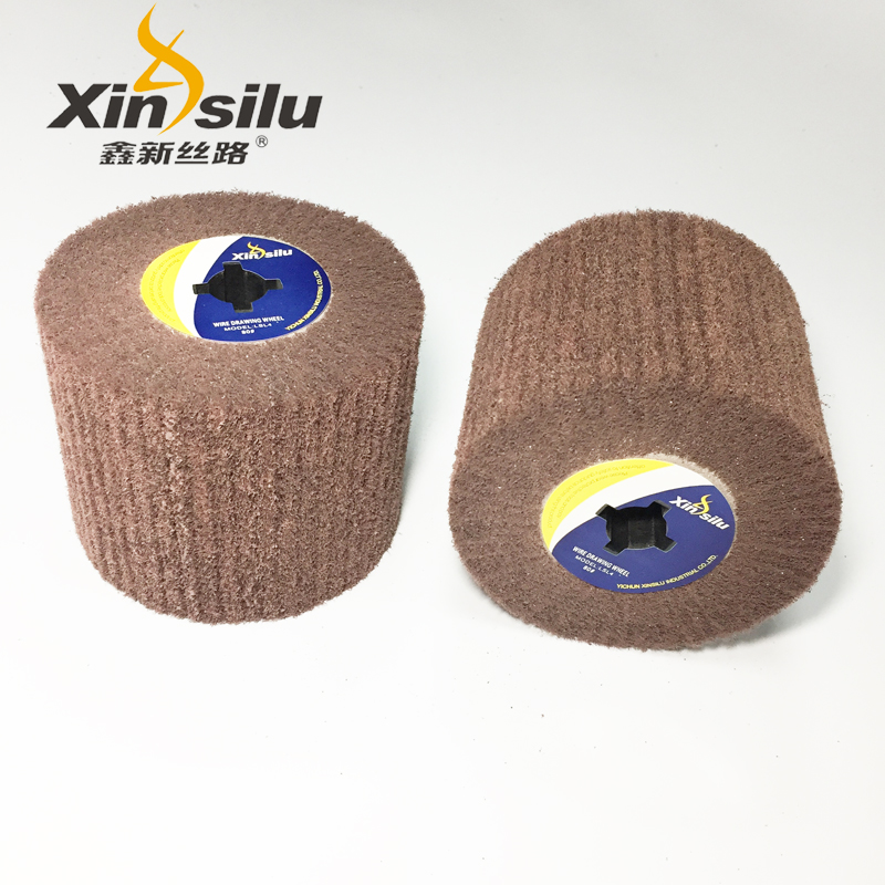 Abrasive flap wheel for stainless steel