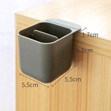 Творческий Pasteable настольная подставка для ручек для хранения Коробки офисная ручка отделение для хранения всякой всячины школьная Канцеля...(Китай)