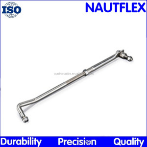 Wholewin YK7-T3 steering Stainless steel adjustable sreering arm and reinforced tiller arm