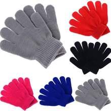 Dětské rukavice v různých barvách