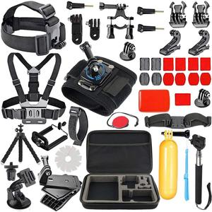 2019 Go pro Accessories kit for Go Pro Heros 6,5,4,3 Head Strap Camera Mount, Chest Mount made in China