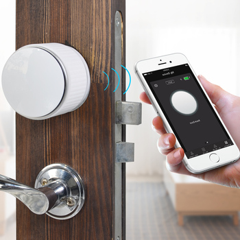Smart Phone APP Control Bluetooth Unlock Electronic Door Lock with Battery Power