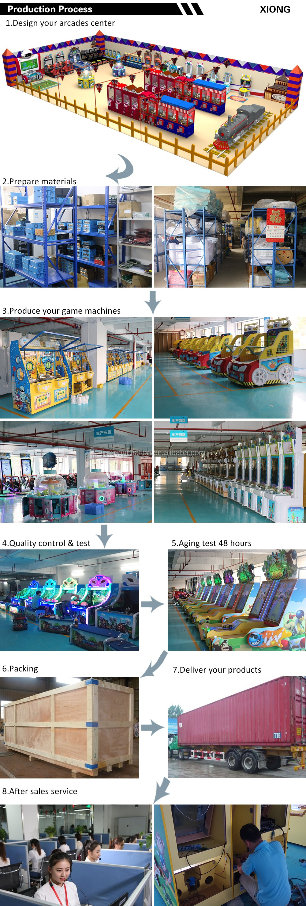 Commercial Cheap Sale Coin Operated Ball Arcade Game Machine