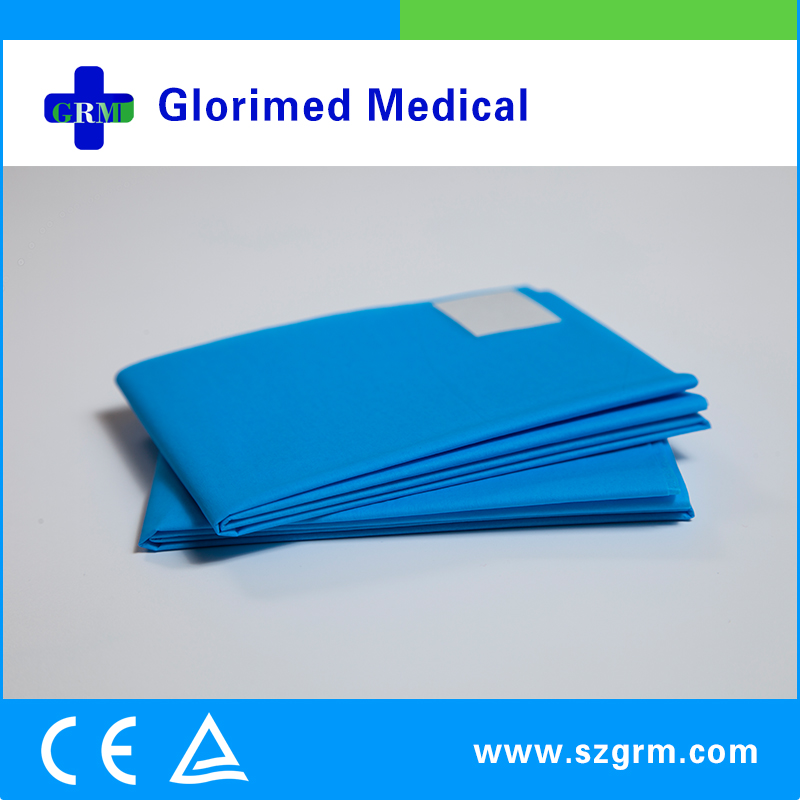 Fenestrated surgical drape in surgical incise pack from online shopping in suzhou