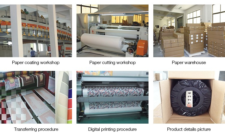 Roll Kertas Cetak Sublimasi Heat Transfer Paper