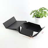 Custom logo printed plastic handle cardboard box 와 logo