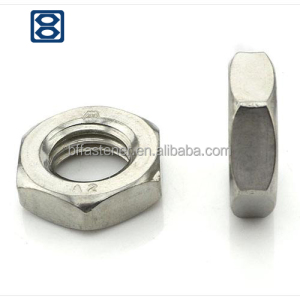 Standard hardware tool Hexagon nut M8 M10 M12 DIN 439