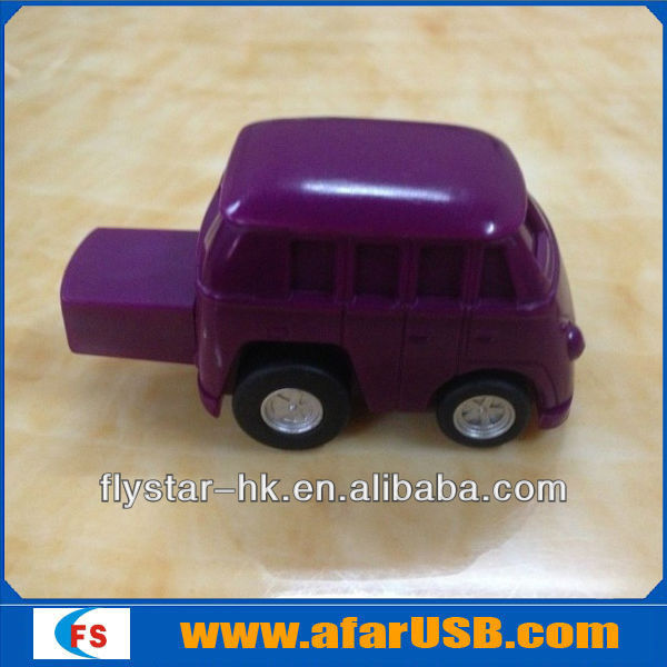 2013 new plastic mini bus pendrive bus