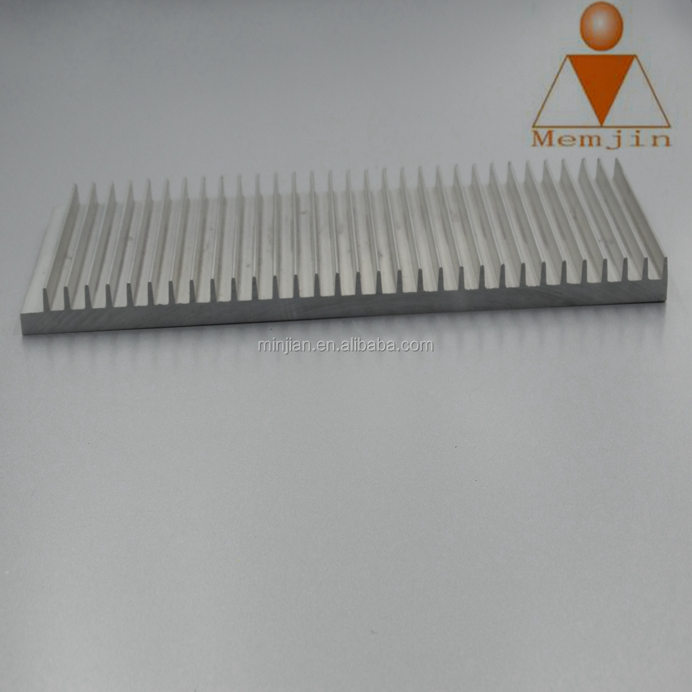 round or square Extruded Aluminum Profile for Heatsink