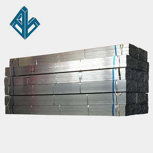 Best price 2 1/2 x 4 inch carbon steel pipe galvanized rectangular tube/2'' Galvanized pipe used for pvc window and door