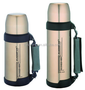 insulated stainless steel Vacuum Flask Golden Color