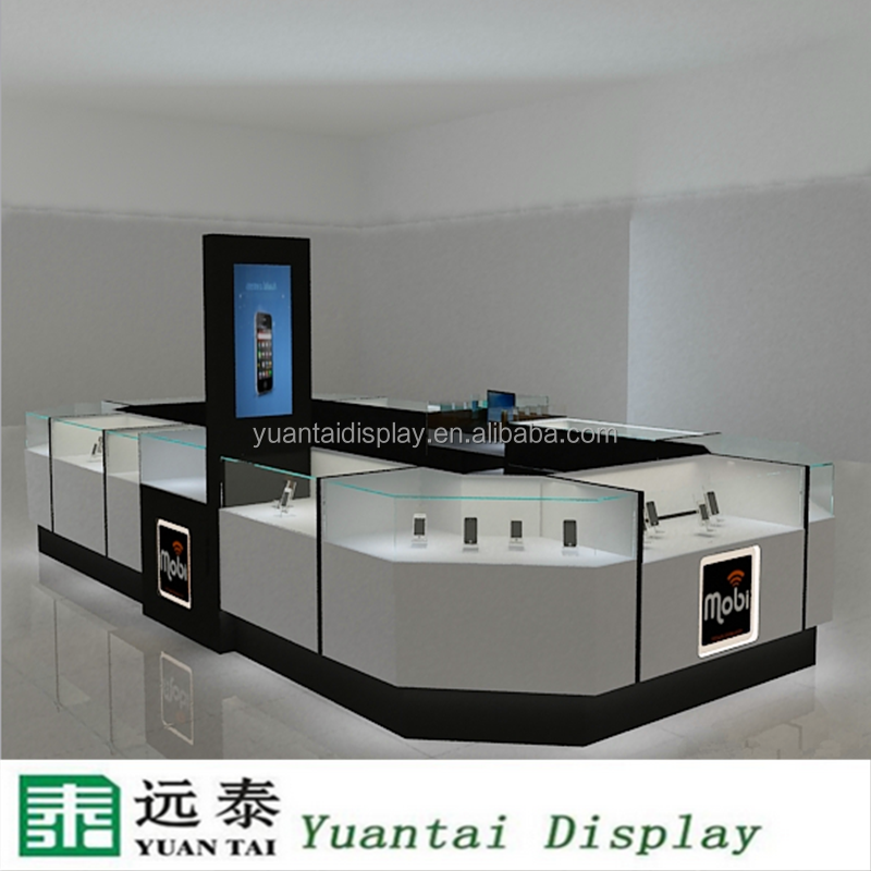 cell phone accessories kiosk mobile phone store interior design
