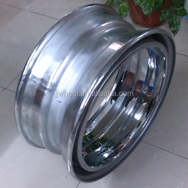 chrome demountable rims